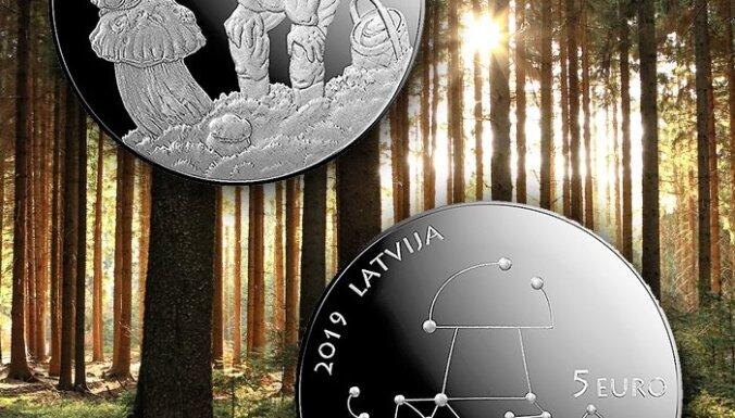 Latvijas Banka izlaiž kolekcijas monētu 'Meža veltes'