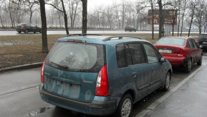Krievijā parādījies jauns nozieguma veids – zog Latvijas automašīnu numuru zīmes