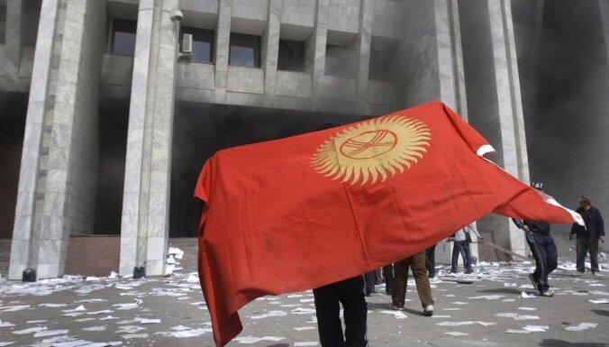 Atkāpies Kirgizstānas parlamenta spīkers