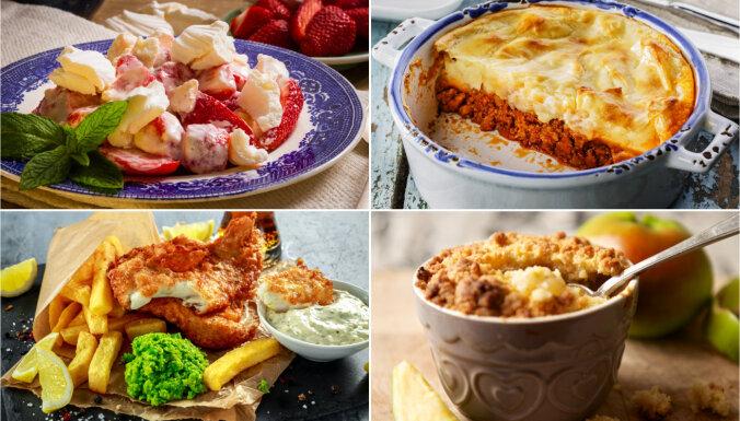 17 britu virtuves ēdieni, ko ir vērts iemācīties pagatavot