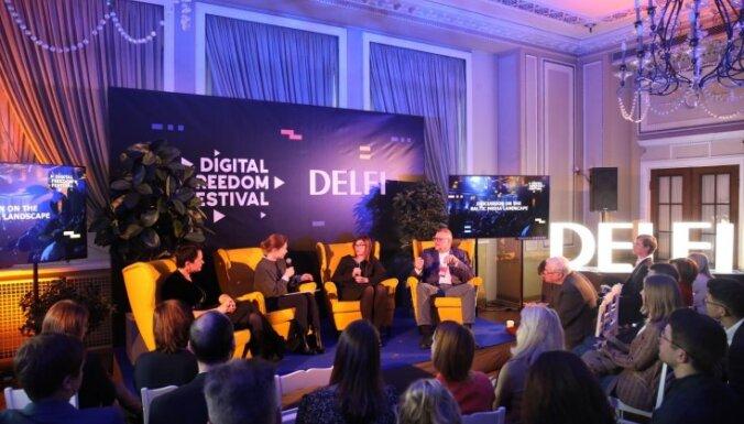 Cilvēks-mašīna un mediju nākotne – Rīgā notiek 'Digital Freedom Festival'. Teksta tiešraides arhīvs