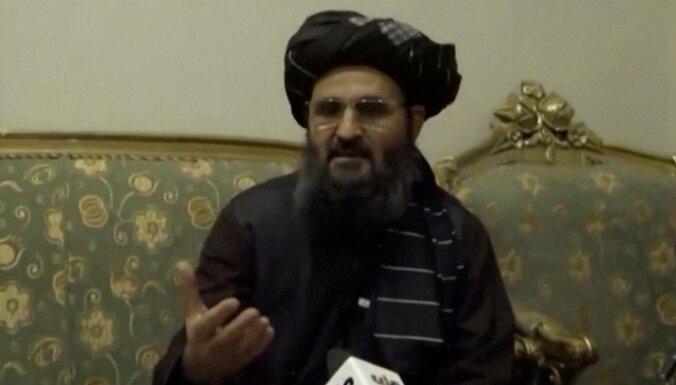 Nozudušais 'Taliban' vicepremjers Baradars videoierakstā noliedz konfliktu ar kolēģiem