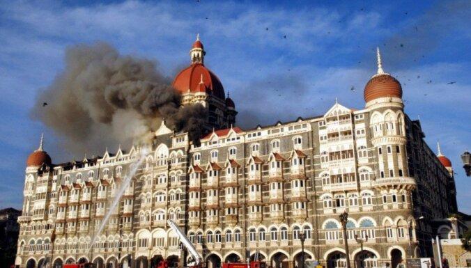 Indijā pirms Jaunā gada terorisma trauksme