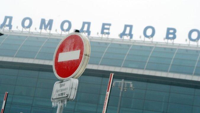 Atlaiž Maskavas Domodedovas lidostas šefu