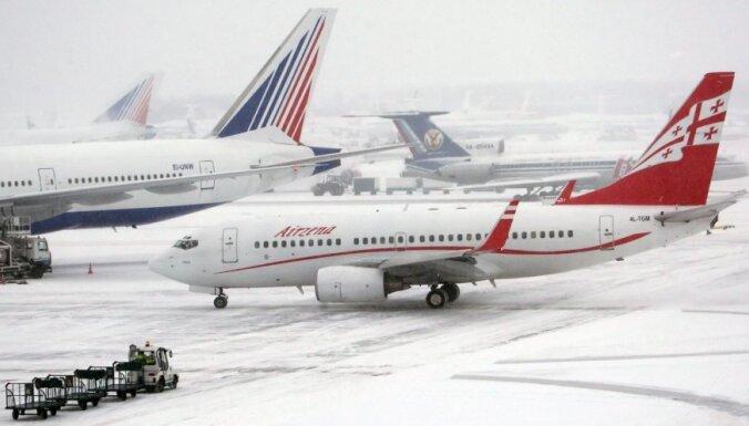 Elektroapgādes pārtraukuma dēļ slēdz Domodedovas lidostu