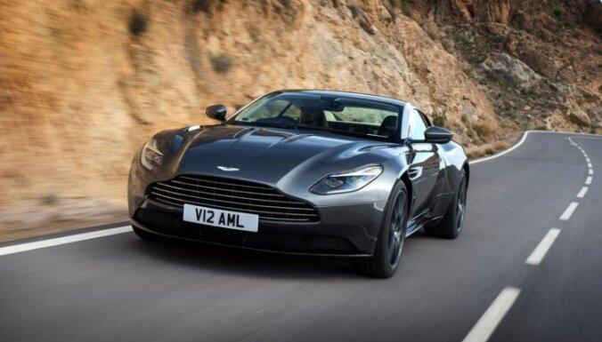'Aston Martin DB11' ir pirmais šīs markas auto ar turbopūti