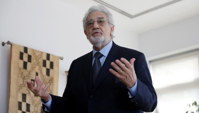 Spānijas ministrija atceļ operas zvaigznes Domingo uzstāšanos Madridē