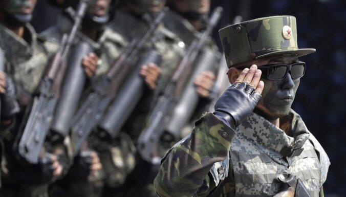 ASV nav tuvu militāriem soļiem pret Ziemeļkoreju, pārliecināts diplomāts