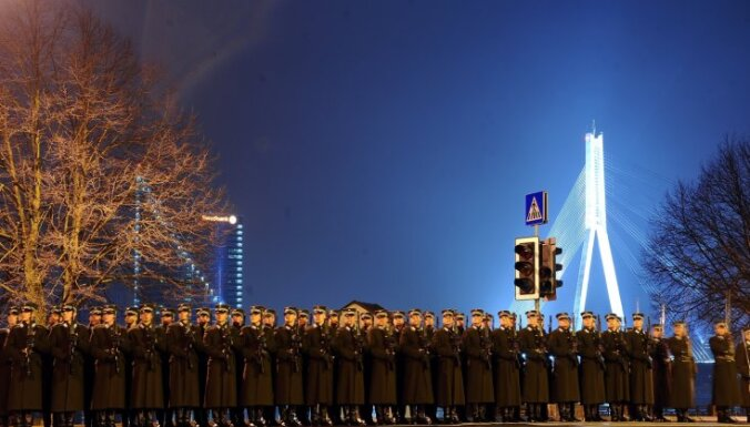 Фоторепортаж с генеральной репетиции военного парада