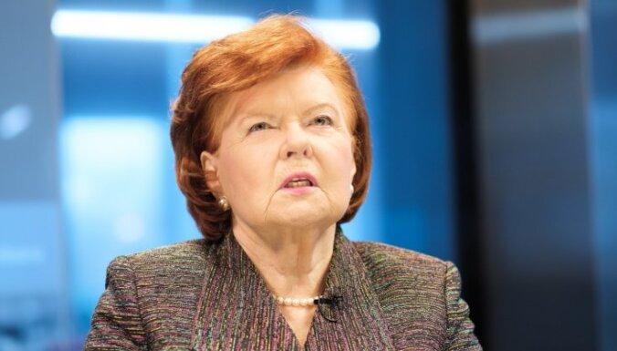 Vīķe-Freiberga: Baltijas valstis un Polija nedrīkst baidīties no Krievijas imperiālajām ambīcijām
