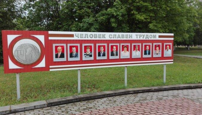 Foto: Tanks katrā pilsētā un Staļina biste – padomju uzvaras kults Baltkrievijā