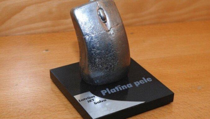 Aicina pieteikties IT gada balvai 'Platīna pele 2018'