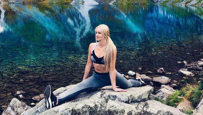 Krāšņi foto: Fitnesa skaistules Paulas ceļojums uz Polijas Tatriem