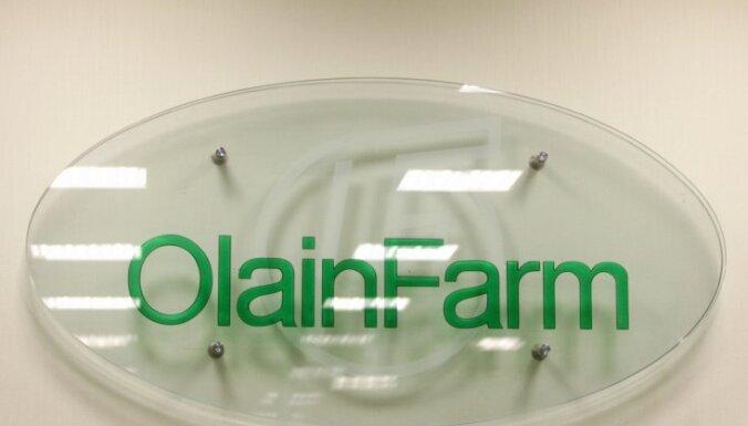 Saistībā ar izmaiņām 'Olainfarm' vadībā lūdz sākt kriminālprocesu par iespējamu reiderismu
