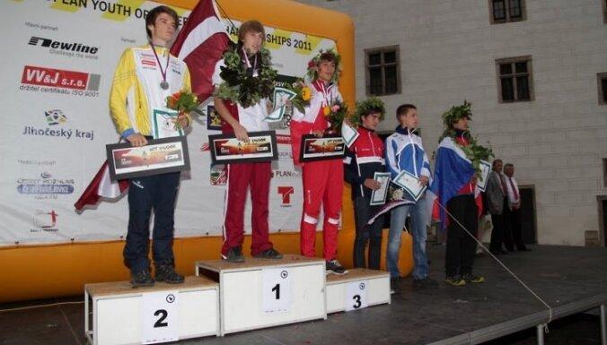 Rūdolfs Zērnis - Eiropas čempions orientēšanās sportā jauniešiem