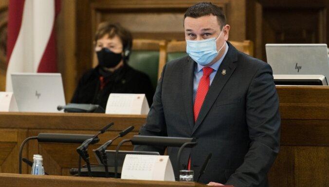 Petravičas vietā Saeimā darbu sāk Edgars Kronbergs