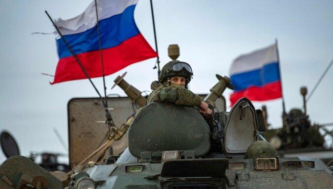Vācija, Francija, Lietuva, Polija un Ukraina aicina Krieviju atvilkt karaspēku