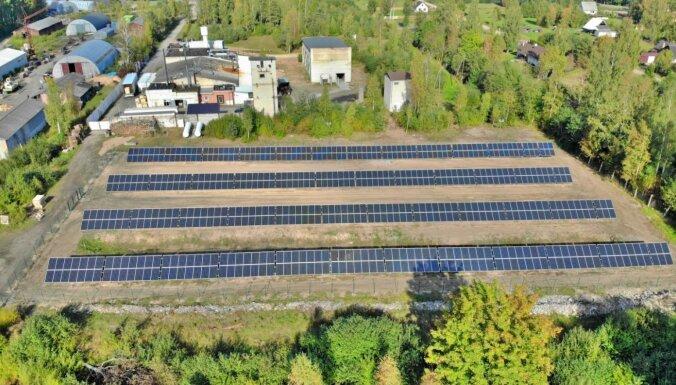 Производитель рыбных консервов установил крупнейший парк солнечных панелей в Курземе
