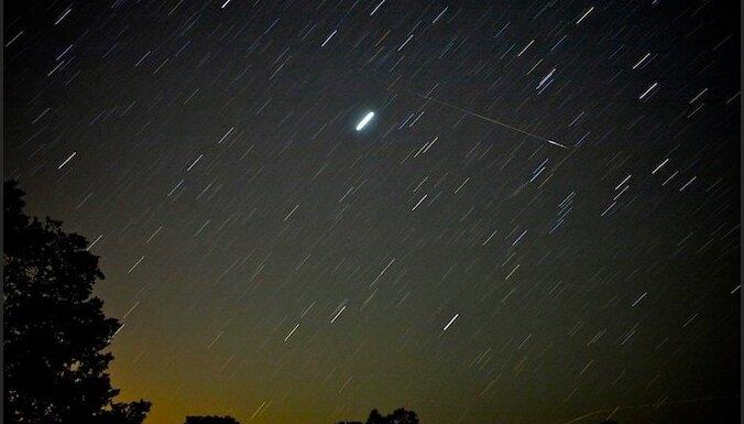 Ночью в небе можно будет наблюдать звездный дождь