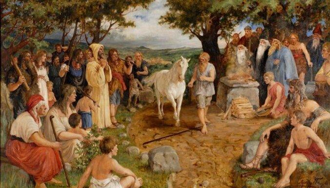 Arturs Baumanis. 'Likteņa zirgs'