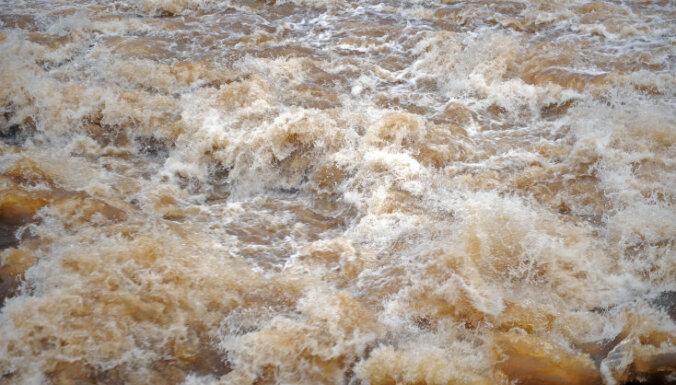 Ledus Ogres upē izgājis; nav bažu par plūdiem