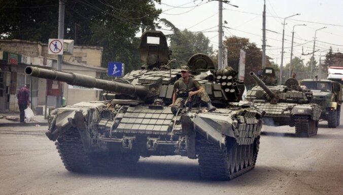 ECT izskatīs Gruzijas sūdzību pret Krieviju par 2008.gada karu