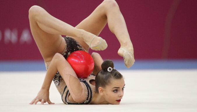 Российские гимнастки завоевали 13 медалей на чемпионате мира в Баку