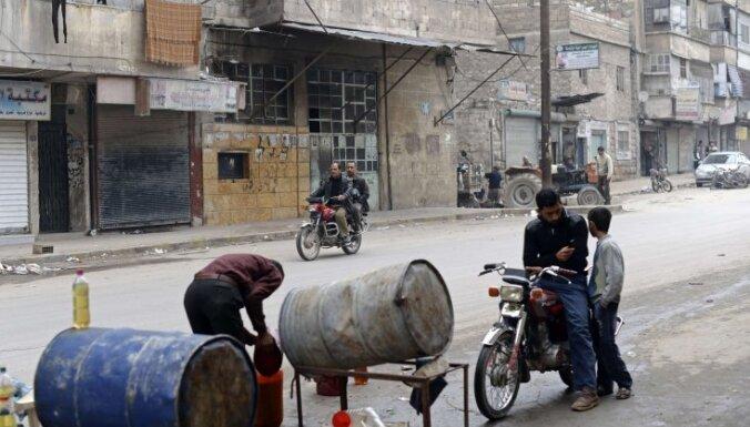 Francija: Sīrijas armija ir jāaptur pirms Alepo