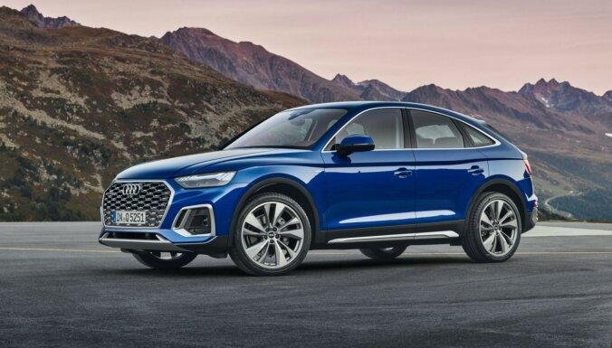 'Audi' prezentējis 'Q5' apvidnieka 'Sportback' versiju