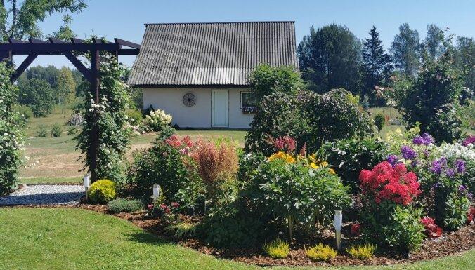 Foto: Šīs vasaras skaistākie un sakoptākie īpašumi Vecpiebalgā
