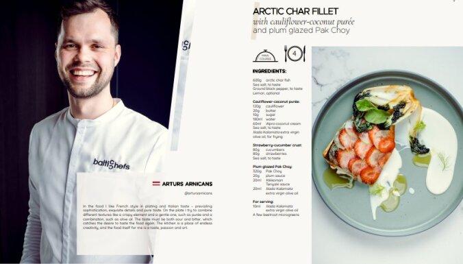 Jaunā pavārgrāmata 'Baltic Chefs' jau drīz uzsāks ceļu pie gardēžiem
