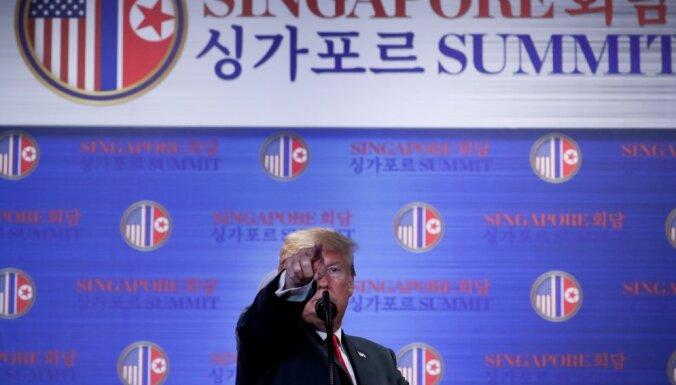 Трамп пообещал прекратить проводить военные учения, которые раздражают Пхеньян