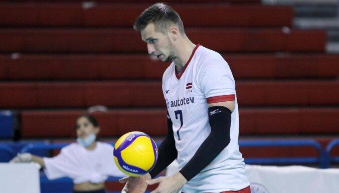 Sauša pārstāvētā 'VaLePa' aizsāk Latvijas volejbolistu Eiropas kausu sezonu