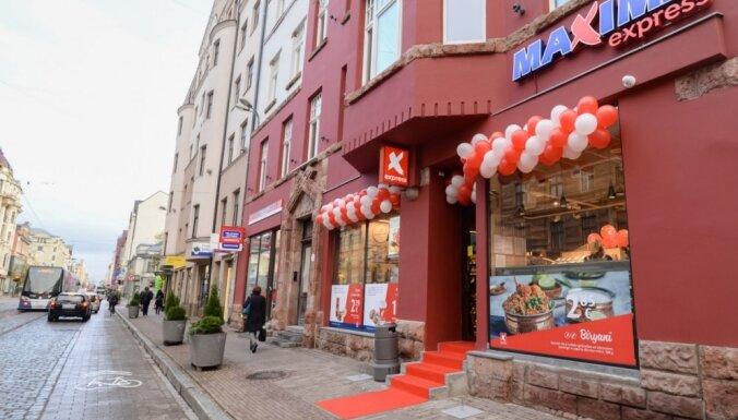 ФОТО: В центре Риги открылся второй магазин Maxima Express