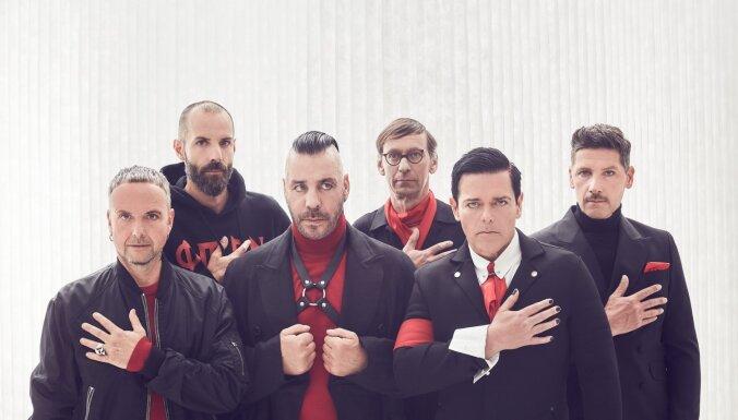 Iznāk vācu roka provokatoru 'Rammstein' jaunais albums