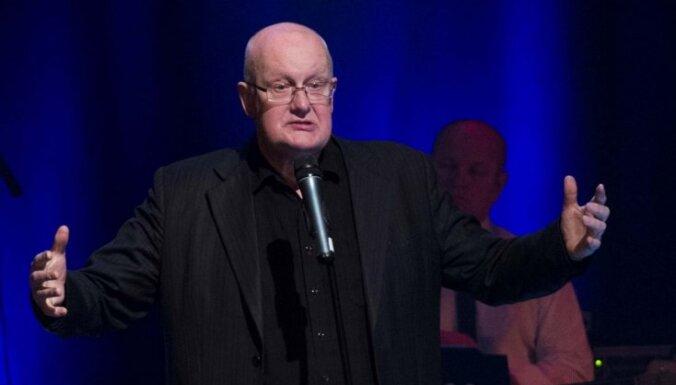 Aktieris Jānis Paukštello svin 65 gadu jubileju