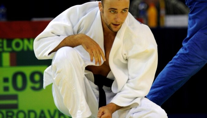 Yevgeny Borodavko, judo