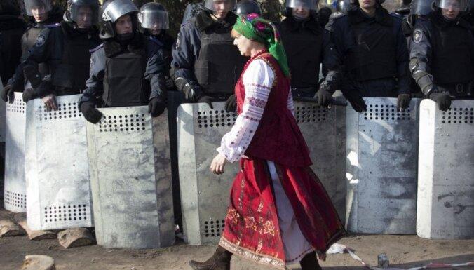 МИД Латвии призывает к прекращению насилия в Киеве