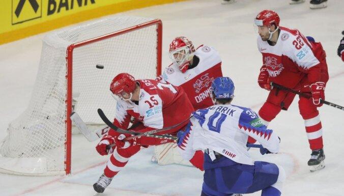 Slovākija smagā spēlē pret Dāniju piesakās uz ilgi gaidītu atgriešanos ceturtdaļfinālā