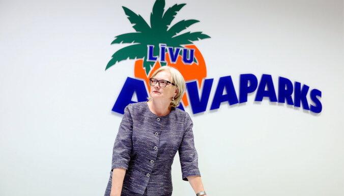 ФОТО: В Līvu Akvaparks появилась новая скоростная трасса; в развитие планируется вложить до 80 млн евро