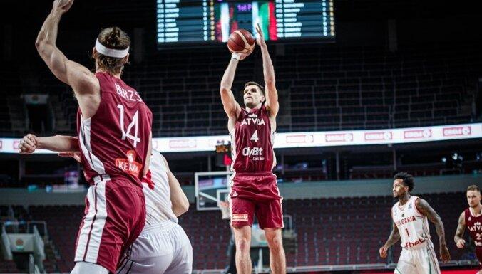 Latvijas basketbolisti bez Timmas un Bertāna noslēdz kvalifikācijas ciklu