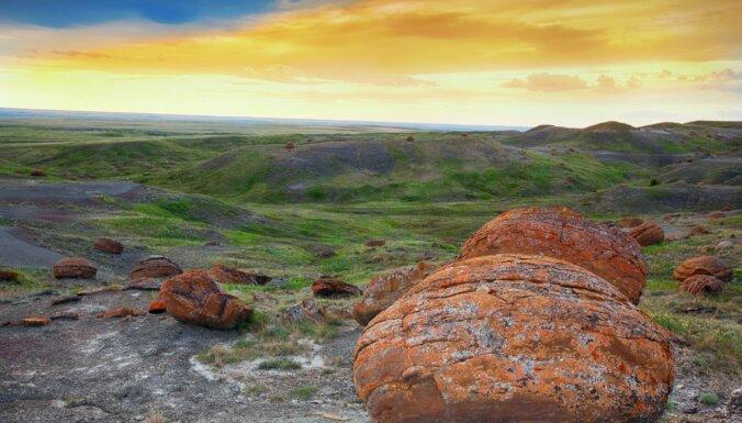Gluži kā uz citas planētas: neparastie akmeņi Kanādā