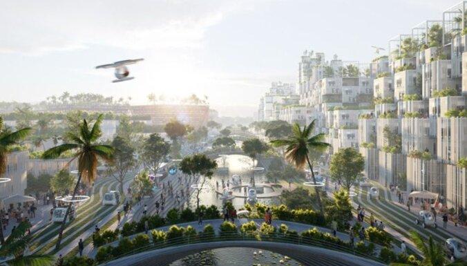 ВИДЕО. В Малайзии построят островной экогород с цифровым парком в центре
