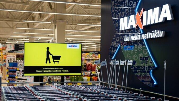 Ar Covid-19 saslimis 'Maxima' darbinieks Rīgā; veikals pēc dezinfekcijas atsācis darbu