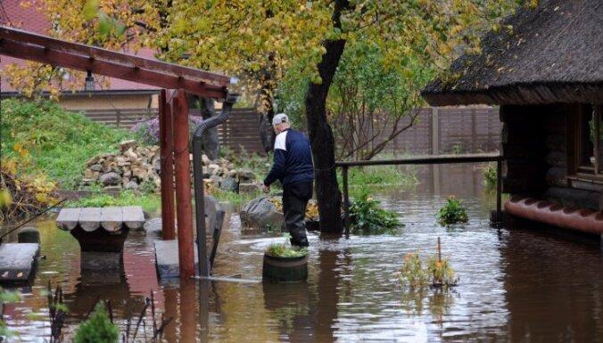 Ущерб от наводнения в Огре составил почти 900 000 евро