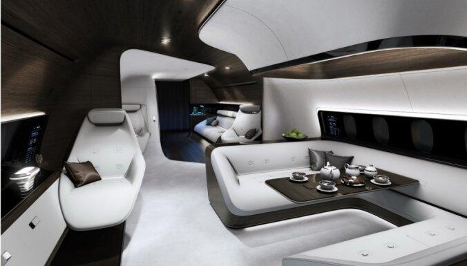 'Mercedes-Benz' izstrādājis īpaši svarīgu personu lidmašīnas interjeru