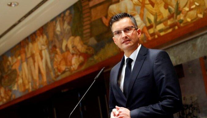 Slovēnijas premjera amatā apstiprināts bijušais komiķis Šarecs