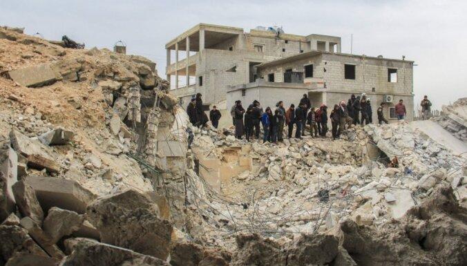 Pentagons noliedz, ka uzlidojumā Sīrijā būtu trāpīts mošejai