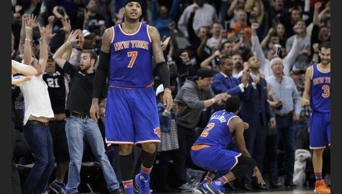 'Knicks' zvaigzne Entonijs iekļauts starp ASV izlases 30 Riodežaneiro olimpisko spēļu kandidātiem