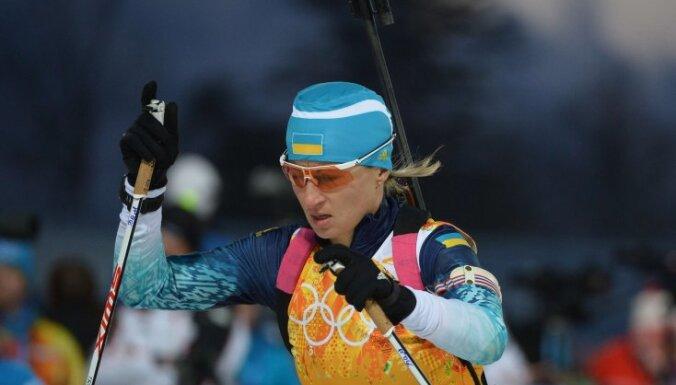 Эстафета по биатлону: Украине — золото, России — серебро